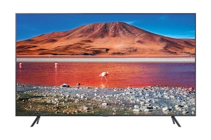 "Samsung Ricondizionato Tv 55"" samsung ue55tu7170 led serie 7 2020 crystal 4k ultra hd smart wifi 2000 pqi hdmi usb refurbished carbon silver"
