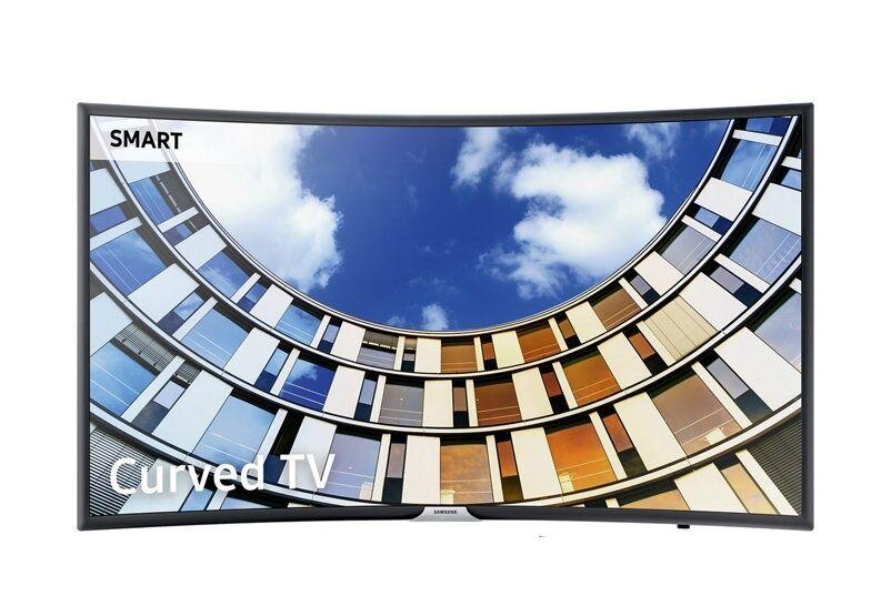"""Samsung Ricondizionato Tv 55"""" samsung ue55m6300 led serie 6 full hd curvo smart wifi 900 pqi hdmi usb refurbished senza base con staffa a muro"""