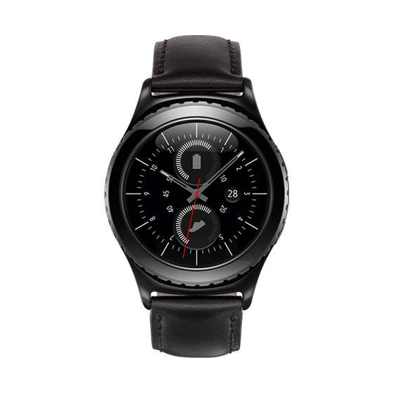 "Samsung Ricondizionato Smartwatch samsung galaxy gear s2 classic sm r732 (taglia m) 1.2"" super amoled 4 gb dual core bluetooth refurbished ner"