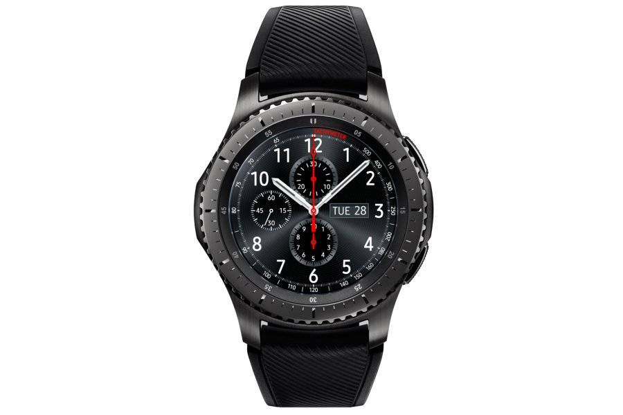 "Samsung Ricondizionato Smartwatch samsung galaxy gear s3 frontier sm r760 (taglia l) 1.3"" super amoled 4 gb dual core wifi nfc bluetooth refurb"