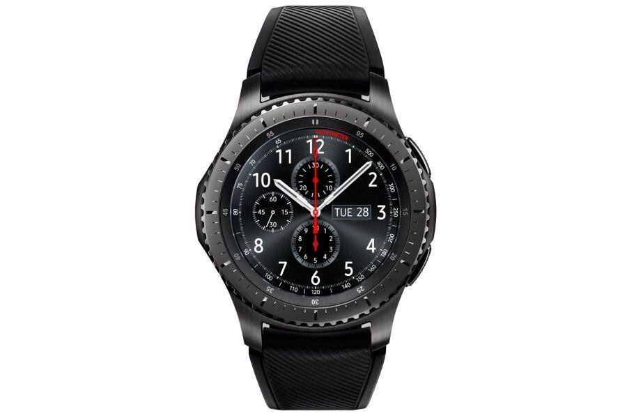 "Samsung Ricondizionato Smartwatch samsung galaxy gear s3 frontier sm r760 (taglia s) 1.3"" super amoled 4 gb dual core wifi nfc bluetooth refurb"