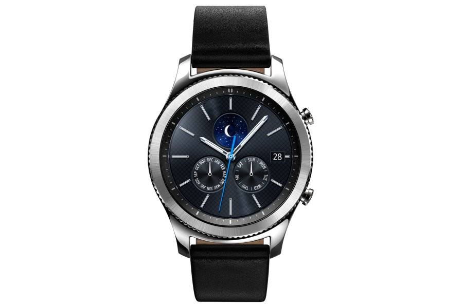 "Samsung Ricondizionato Smartwatch samsung galaxy gear s3 classic sm r770 (taglia l) 1.3"" super amoled 4 gb dual core wifi nfc bluetooth refurbi"
