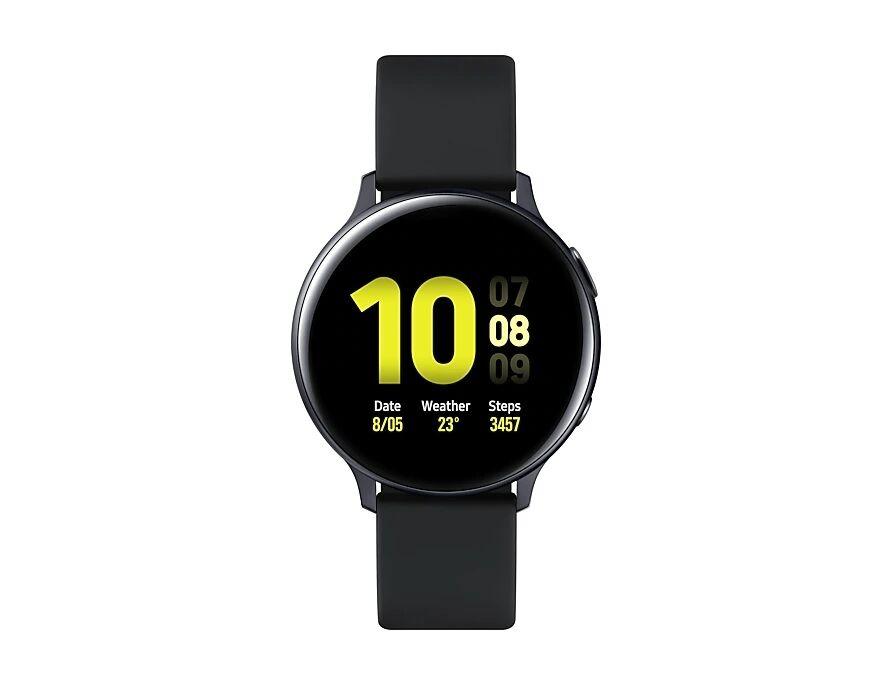 "Samsung Smartwatch Samsung Galaxy Watch Active2 44 Mm Aluminium Sm R820 1.4"" Super Amoled 4 Gb Dual Core Wifi Bluetooth Refurbished Aqua Black"