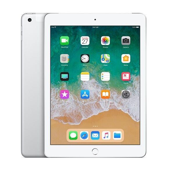 "apple ipad 6 apple a1893 128 gb wifi display retina 9,7"" multi touch chip a10 fusion 8 mp ios 12 refurbished argento"