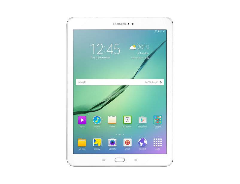 "Samsung Ricondizionato Tablet samsung galaxy tab s2 sm t813 9,7"" super amoled 32 gb wifi bluetooth 8 mp refurbished bianco"