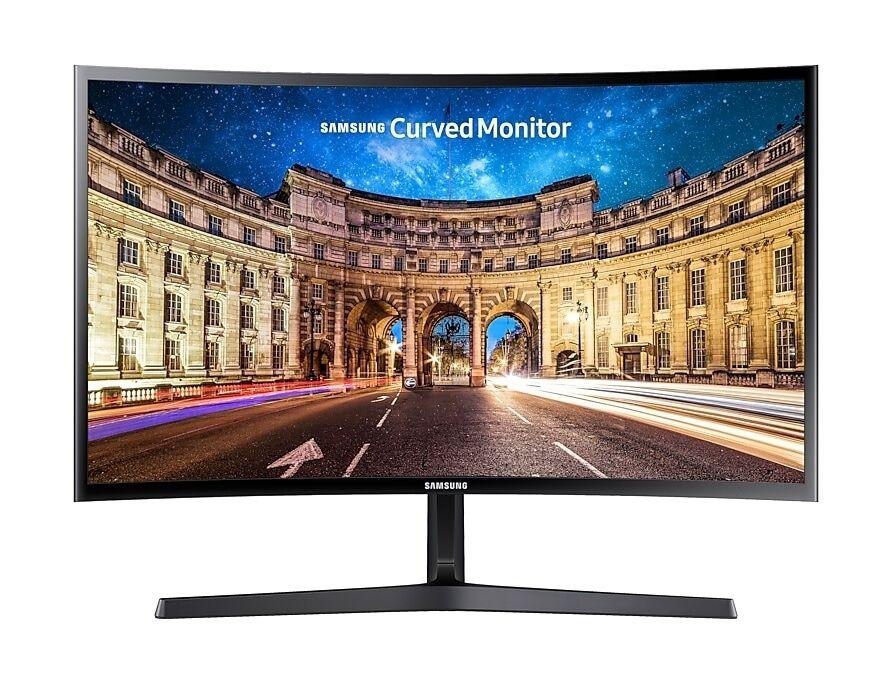 """Samsung Ricondizionato Monitor pc 24"""" samsung lc24f396fhuxen led full hd curvo hdmi refurbished nero"""