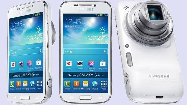Samsung Smartphone Samsung Galaxy S4 Zoom Sm C101 4,3