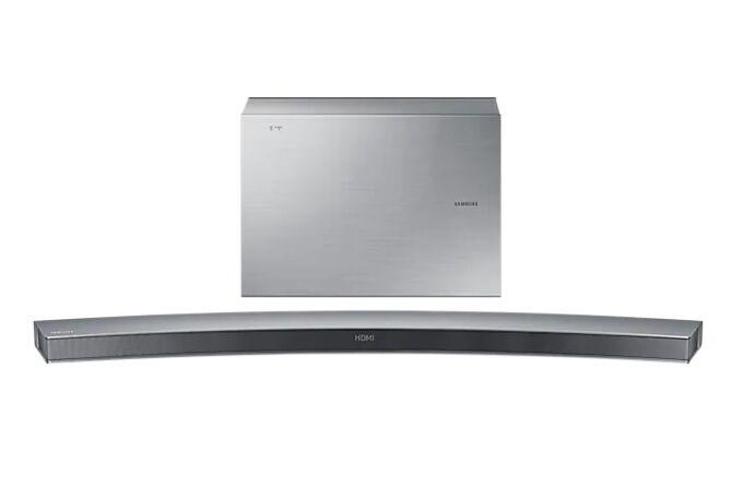 Samsung Ricondizionato Soundbar curva samsung hw j6501 300 w 6.1 canali wireless 3d video pass 4 modalitÀ di suono bluetooth usb host hdmi ref