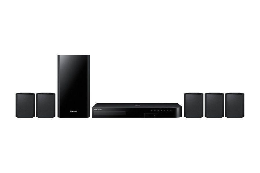 Samsung Ricondizionato Home theatre samsung ht j4550 5.1 canali 500 w fm blu ray 3d cd ripping host usb recording hdmi bluetooth refurbished ne