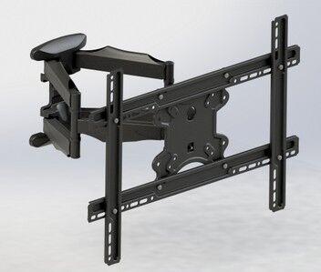 tecno ricondizionato supporto braccio universale tc st011 per tv , monitor lcd, monitor led da 23 a 65'' doppio snodo