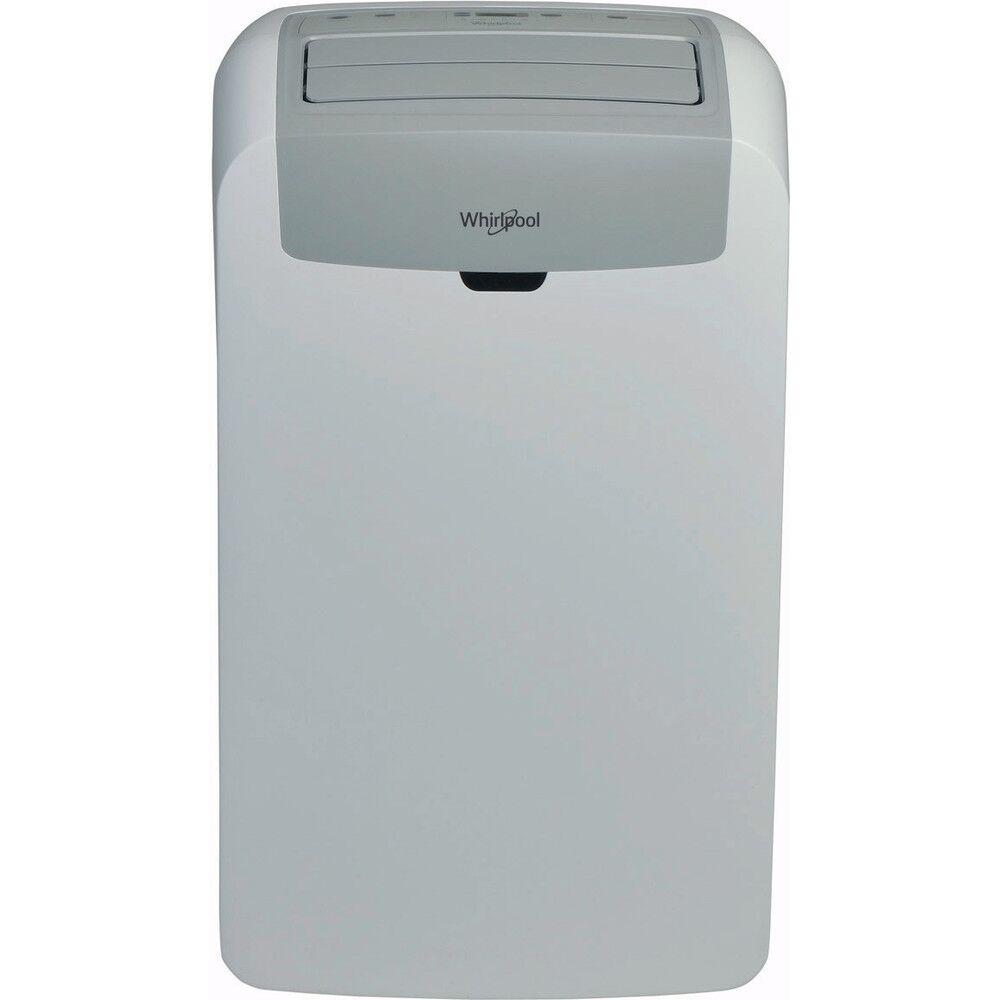 whirlpool climatizzatore / condizionatore portatile monoblocco whirlpool pacw212co 12000 btu gas r290 tecnologia 6° senso filtro hepa classe a bianco 12 mesi garanzia ufficiale