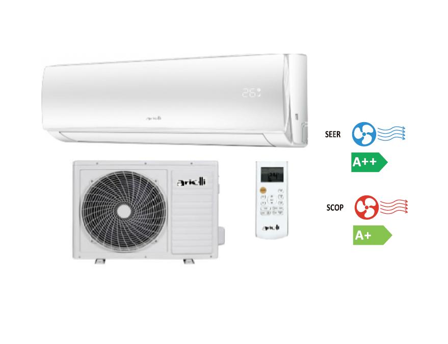 Climatizzatore / Condizionatore Bar - Hotel Arielli Aac-12chxa61 Monosplit A Parete 12000 Btu Wifi Inverter Gas R32 Classe A++ / A+ 12 Mesi Garanzia Ufficiale
