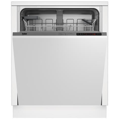 beko lavastoviglie beko din24310 13 coperti 60 cm da incasso 4 programmi partenza ritardata refurbished classe a+