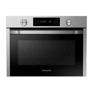 Samsung Forno Combinato Samsung Nq50j3530bs Incasso 60 Cm 50 L Ventilato Microonde 800 W Grill Pulizia A Vapore Refurbished Nero / Inox