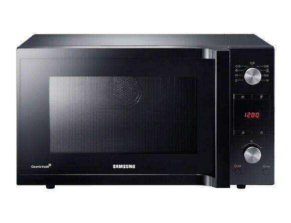 Samsung Forno Microonde Samsung Mc455tercbb Combinato Grill 45 L 900 W 6 Livelli Di Potenza 27 Programmi Display Led Libera Installazione Refurbished Nero