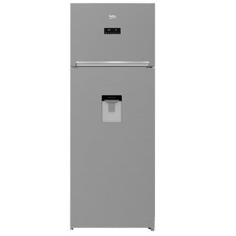 Beko Frigorifero Beko Rdne455e30dzxb Doppia Porta 402 L 70 Cm Dispenser No Frost Prosmart Inverter Inox Libera Installazione Refurbished Classe A++