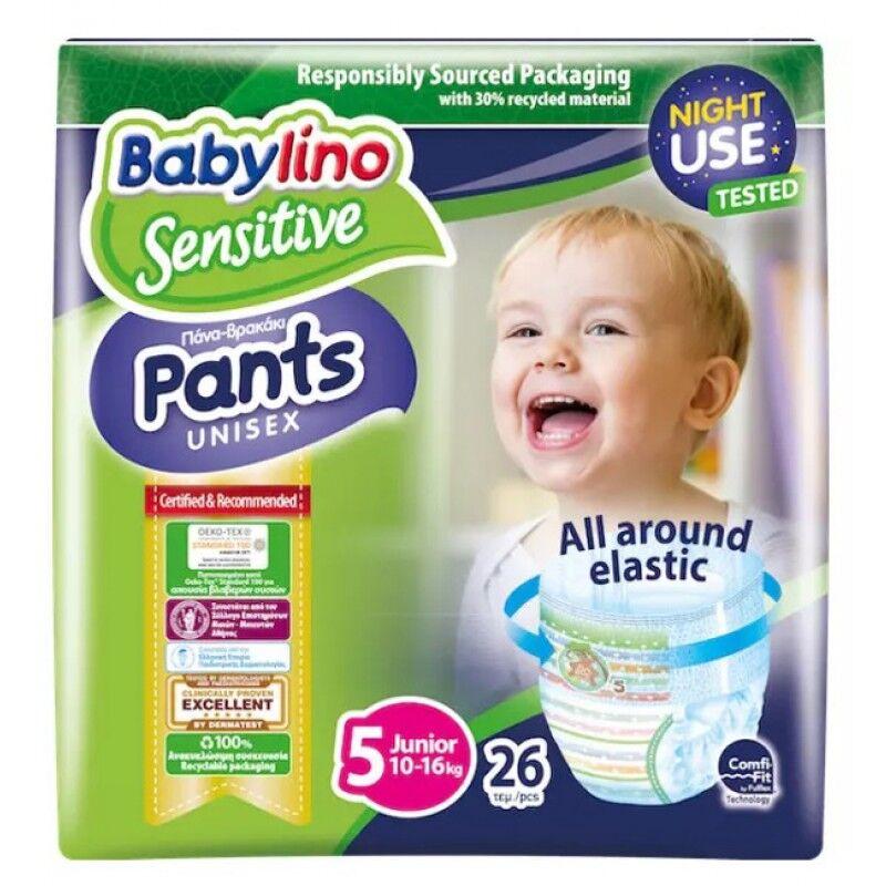 mega disposables sa babylino pants unisex pacco scorta tg 5 10-16 kg