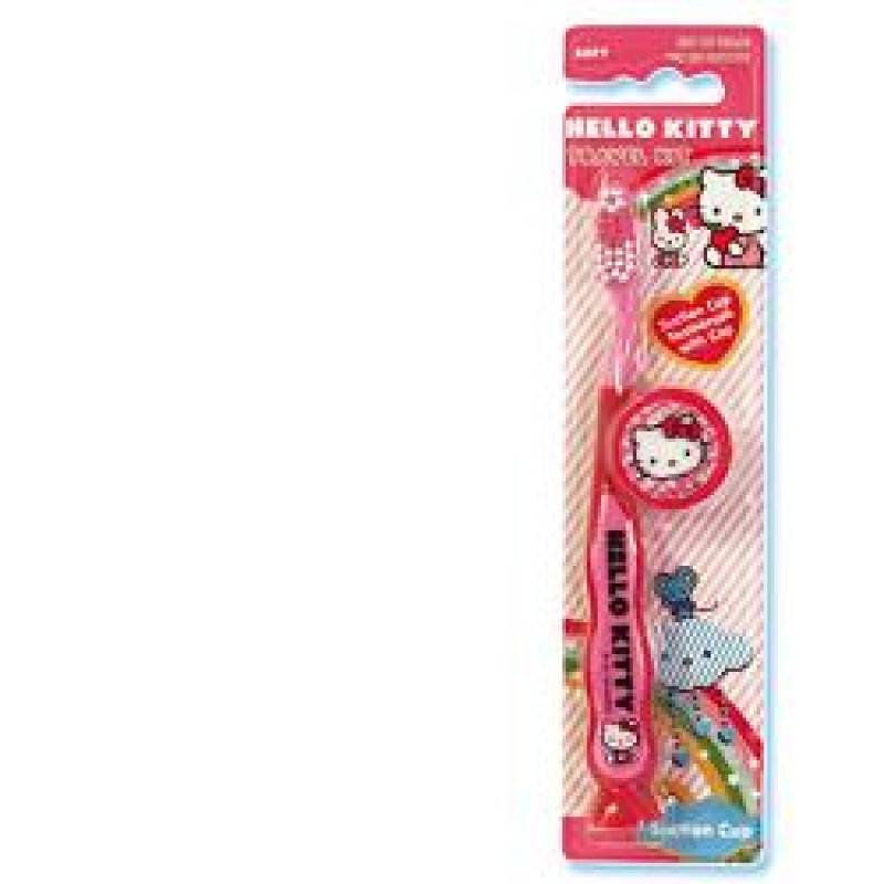 Rolly Brush Srl Spazzolino Da Denti Hello Kitty 2d Con Copri Cappuccio