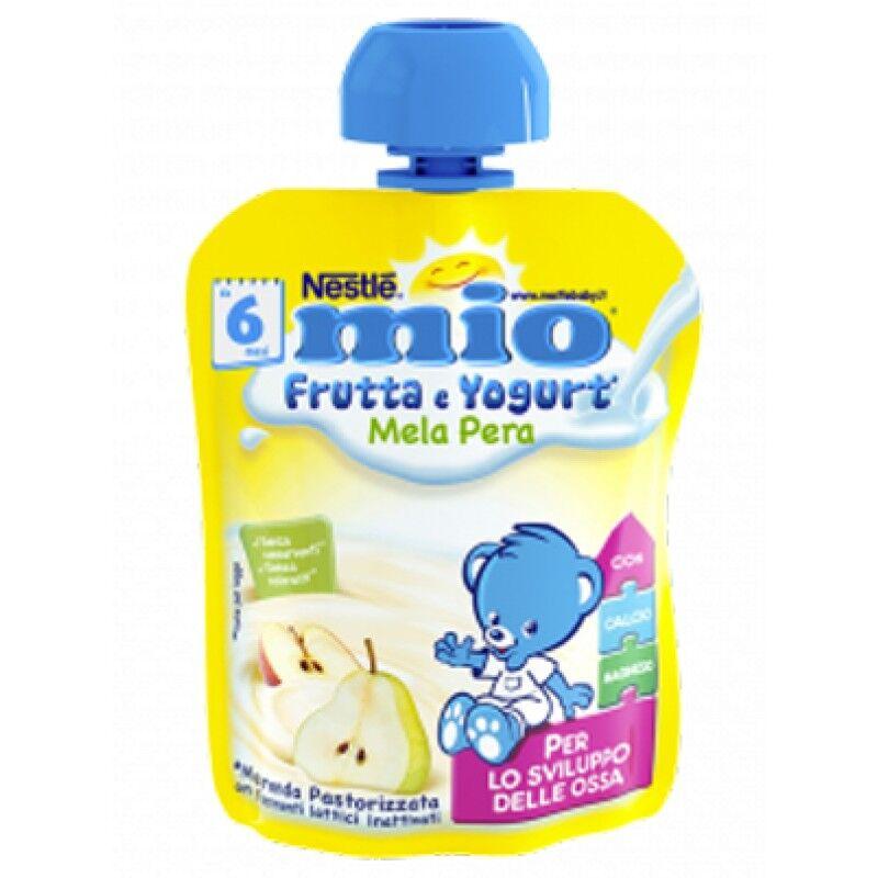 nestle' it.spa(infant nutrit.) mio pouch yogurt mela pera 90g
