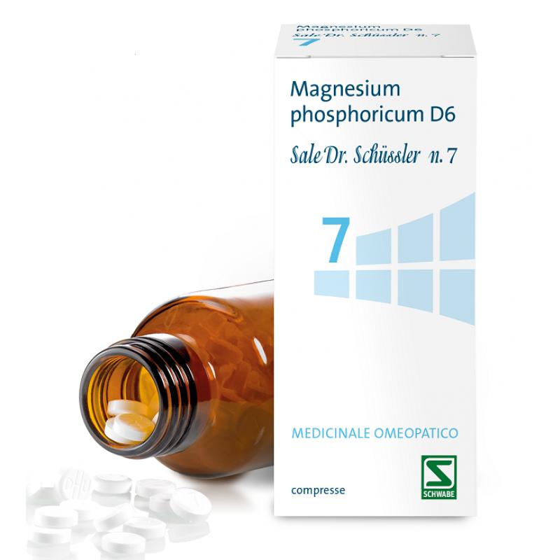 Schwabe Pharma Italia Srl Magnesium Ph.7 D6 200cpr Dhu