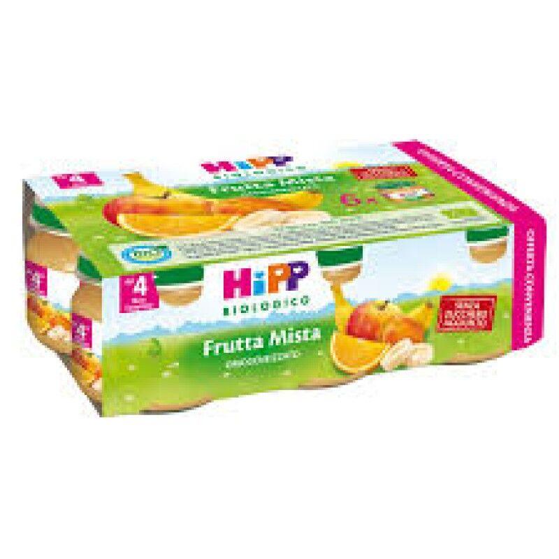 Hipp Italia Srl Hipp Bio Omogeneizzato Frutta Mista 6 Pezzi 80 G