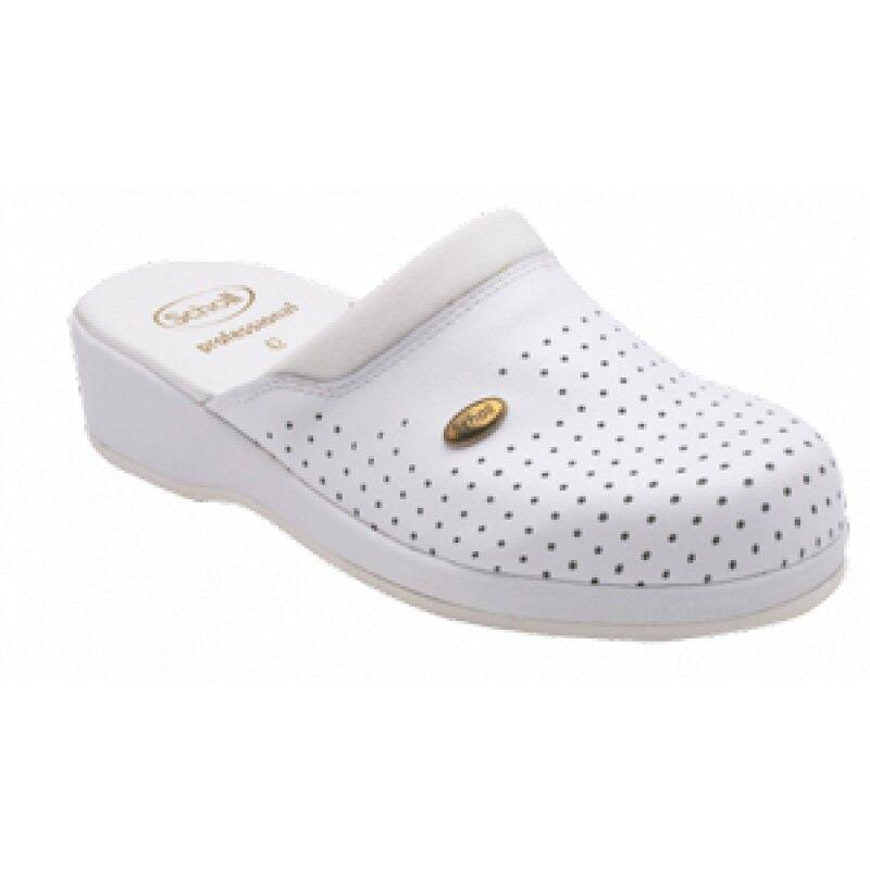 Dr.Scholl'S Div.Footwear Clogs Back Guard Bianco 46