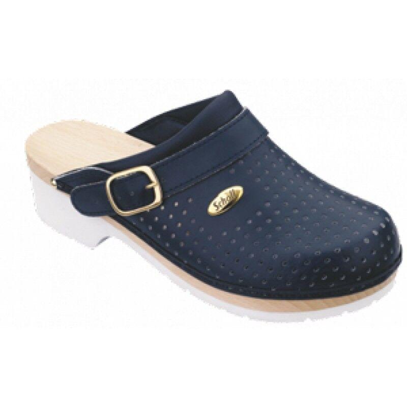 Dr.Scholl'S Div.Footwear Clogs Super Comfort C/cinturino Blu 41
