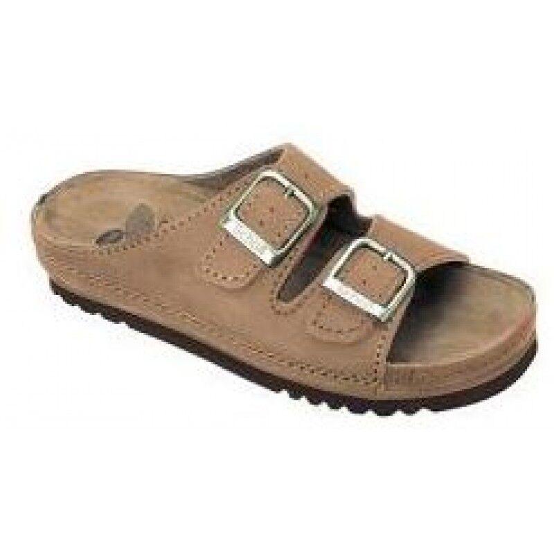 Dr.Scholl'S Div.Footwear Airbag Sandali Nubuck Cuoio S/cint.37