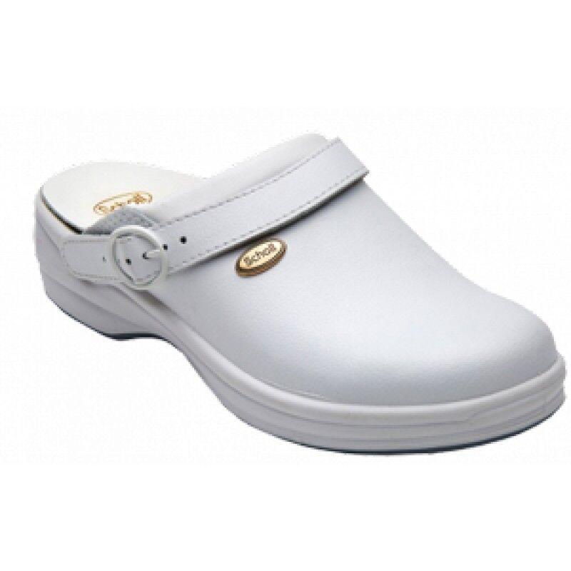 Dr.Scholl'S Div.Footwear Clogs Bonus Liscio Bianco 43