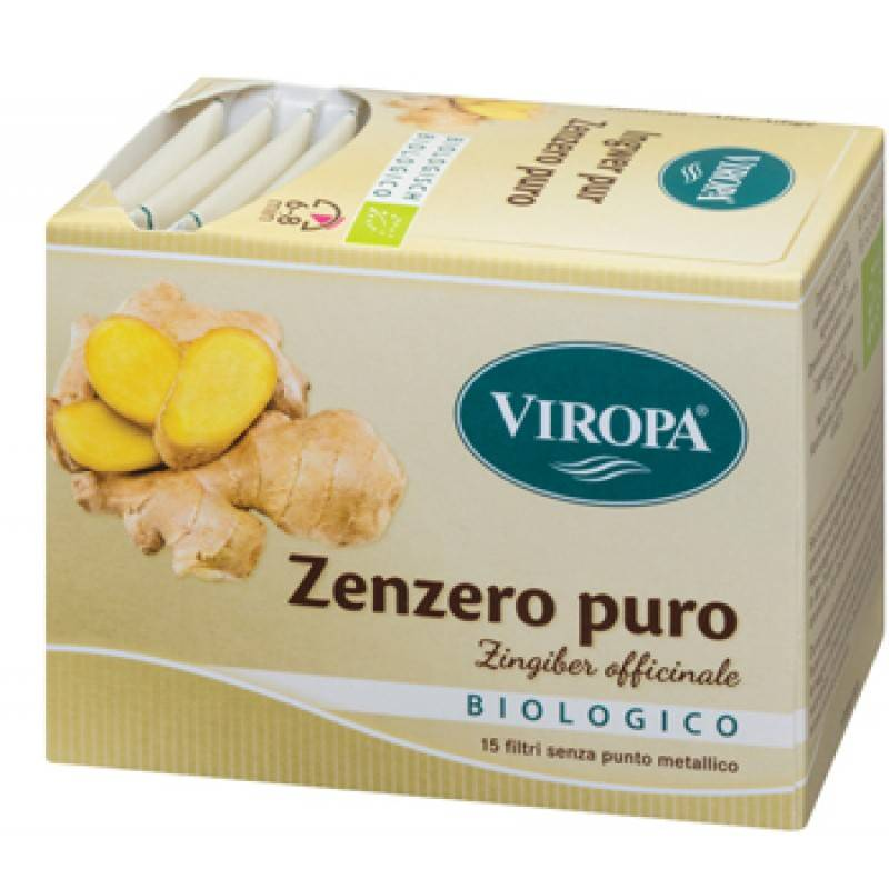 viropa import sas viropa zenzero puro bio 15 bustine