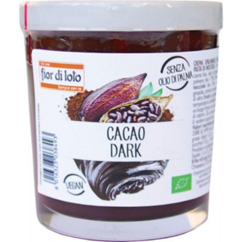 biotobio srl fior di loto crema cacao dark bio 200g