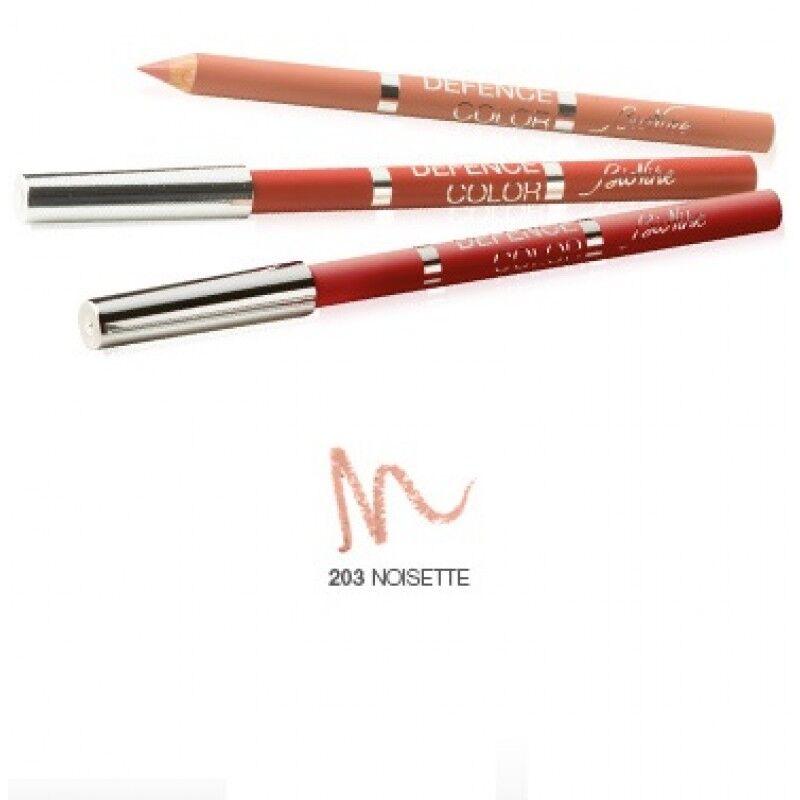 icim (trucco) bionike linea defence color matita labbra lip design tratto preciso 203 nocciola