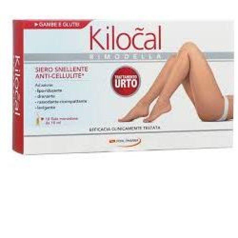 pool pharma srl kilocal linea cosmetica rimodella siero urto snellente anti-cellulite 10 fiale