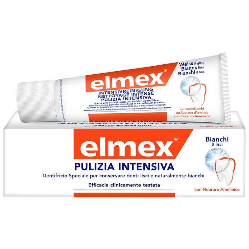 alfasigma paraf elmex linea igiene dentale quotidiana dentifricio pulizia bianco intenso 30 ml