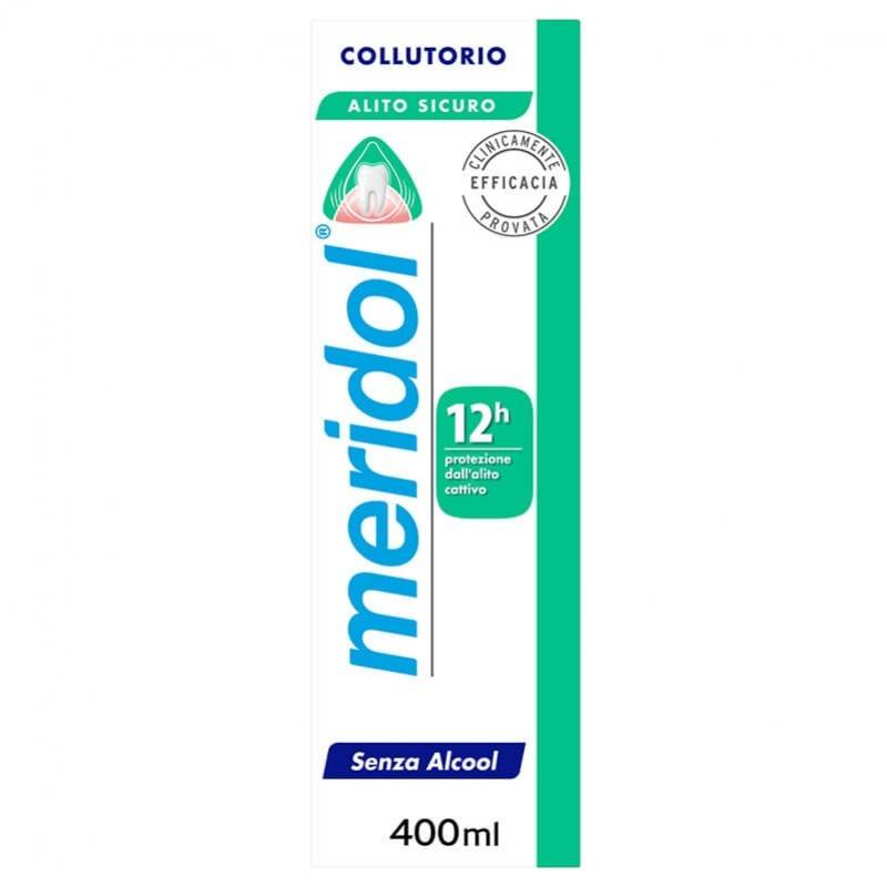 alfasigma paraf meridol halitosis linea igiene dentale quotidiana colluttorio alito fresco 400ml