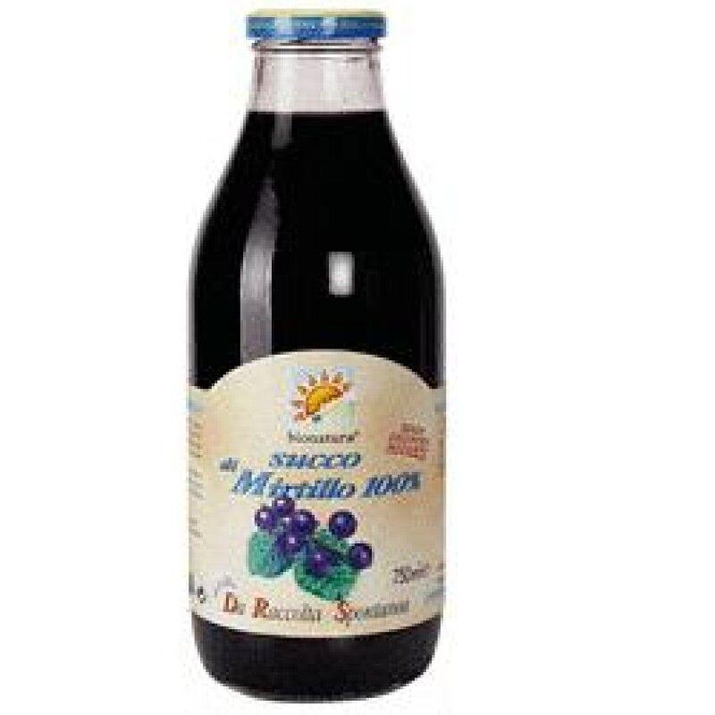 baule volante & fior di loto succo puro mirtilli selvatici 500 ml