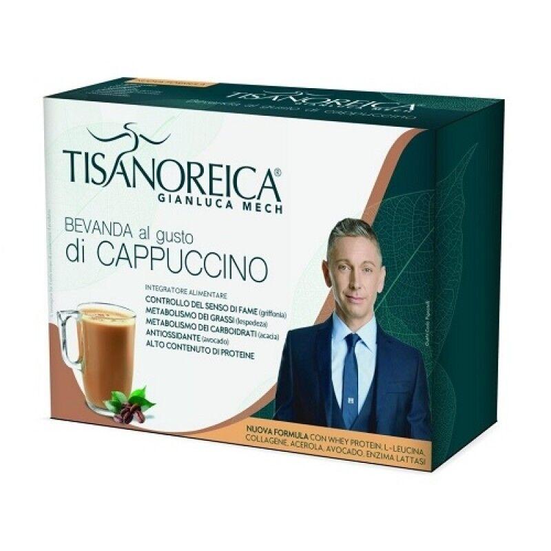 gianluca mech tisanoreica - bevanda al gusto di cappuccino - 4 preparati da 28.5 g