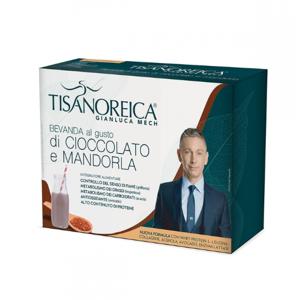Gianluca Mech Tisanoreica Bevanda Gusto Cioccolato Mandorla 30g X 4