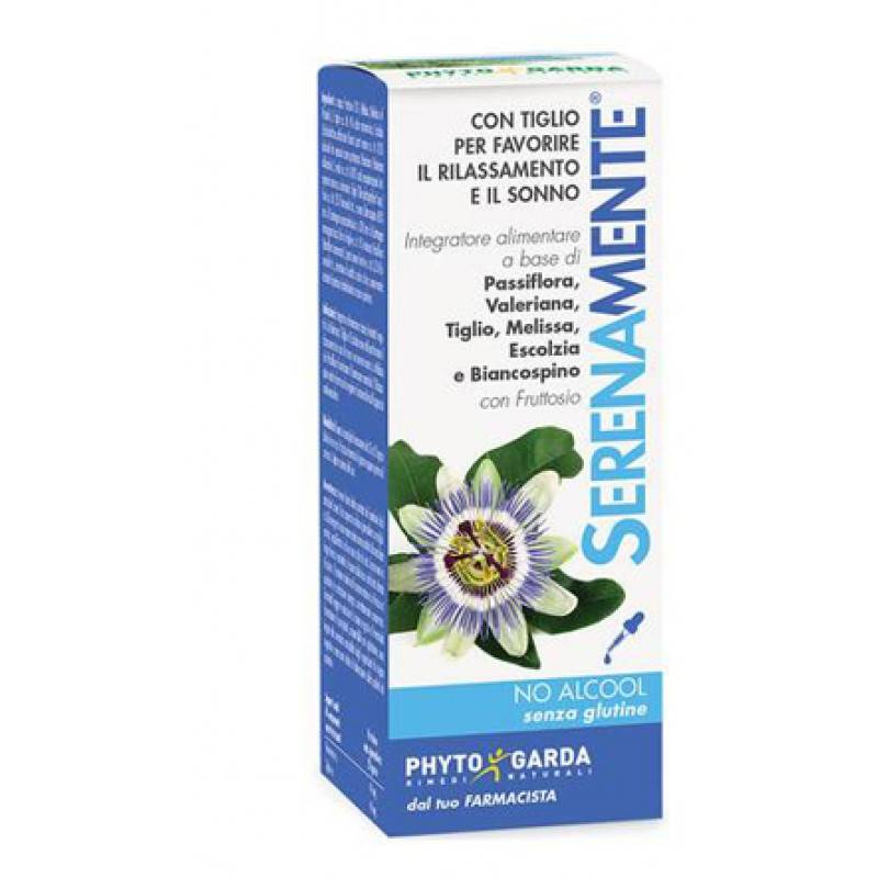 phyto garda srl phytogarda rimedi naturali serenamente utile per umore e sonno gocce 50 ml