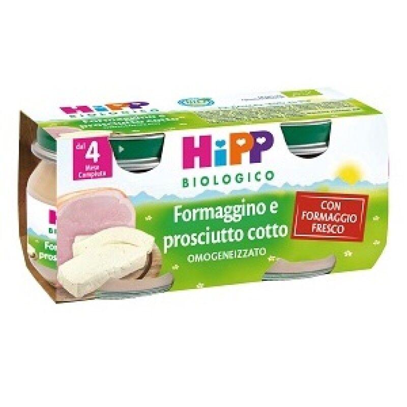 Hipp Formaggino Bio Prosciutto Cotto 2 Pezzi 80 G