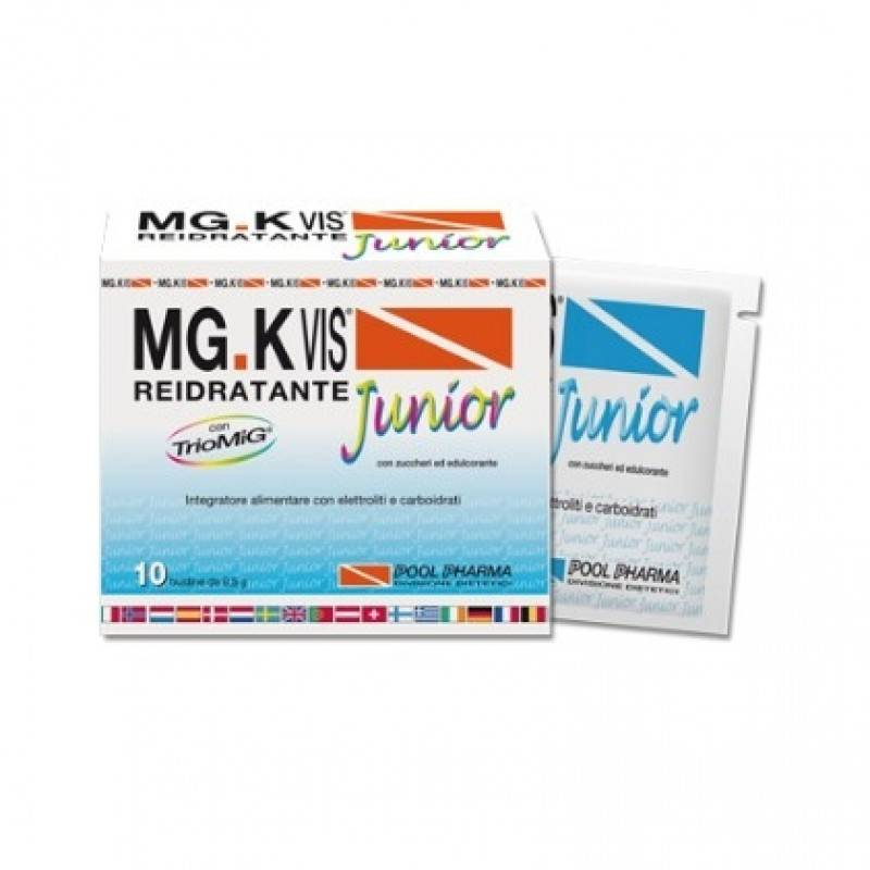pool pharma srl mgk vis junior arancia 10bust