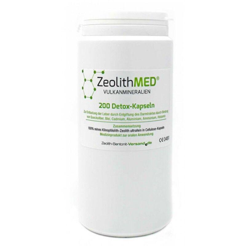 erbavoglio production srl zeolite med detox 200 capsule