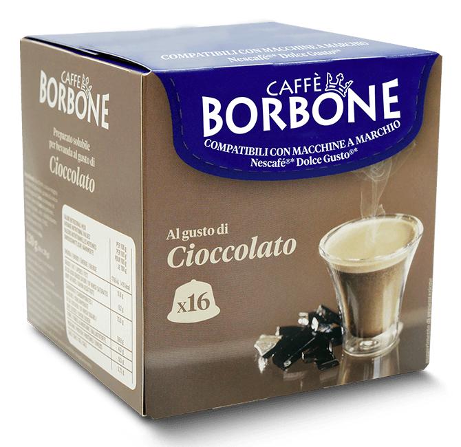 Caffè Borbone Cioccolato  - 16 Capsule Compatibili Dolce Gusto Da 20g