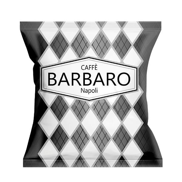 Caffè Barbaro - Nero Corposo - Box 50 Capsule Compatibili A Modo Mio Da 7.5g