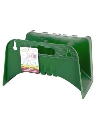 orobicastore portatubo a parete in plastica da giardino verde