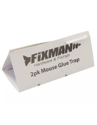 fixman trappola adesiva per topi 2 pezzi