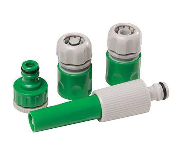 Silverline Set Lancia Per Irrigazione Con Accessori 5 Pezzi