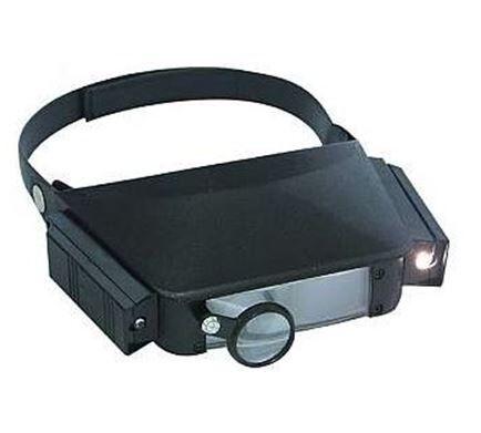L.S.C. Isolanti Elettrici Lente D'Ingrandimento Con Illuminazione E Supporto Per Testa