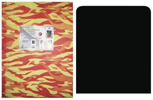 MBM Pedana salvapavimento sotto stufa a legna e pellet cm. 60x70 pedane