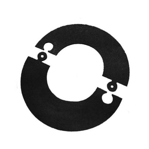 MBM Rosone componibile verniciato nero canna fumaria D. 130 mm stufa pellet